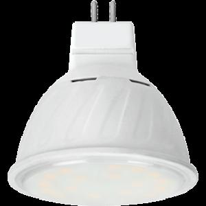 Ecola MR16   LED 10,0W  220V GU5.3 4200K прозрачное стекло (композит) 51x50