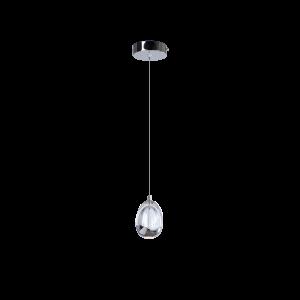 Светодиодный светильник BENETTI Modern Goccia подвесной хром, LED 4,8Вт/1 3000К, 300 Lm, коллекция MOD-001 1/8