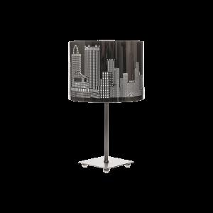Лампа настольная BENETTI Modern Citt? хром, 1xE27, коллекция MOD-405