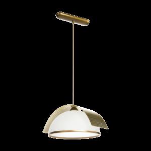 Люстра BENETTI Modern Arco золотистая бронза/золото, 1xE27,  коллекция MOD-415