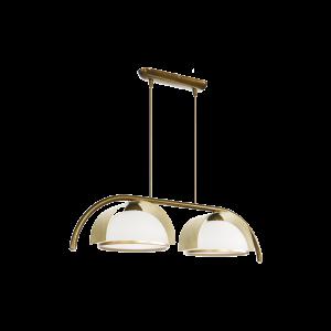 Люстра BENETTI Modern Arco золотистая бронза/золото, 2xE27, коллекция MOD-415