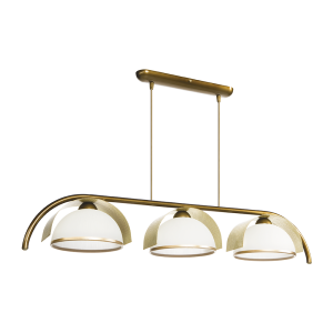 Люстра BENETTI Modern Arco золотистая бронза/золото, 3xE27, коллекция MOD-415