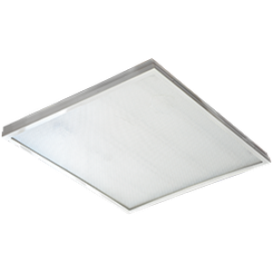 Ecola LED panel универс. (без ступеньки) панель с  драйвером внутри 36W 220V 4200K Призма 595x595x19