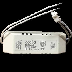 Ecola LED panel Power Supply 36W 220V драйвер для встраив. панели (со ступенькой) с драйвером внутри PF=0,8