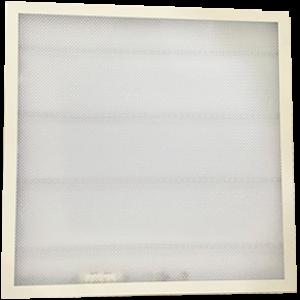 Ecola LED panel встраив. (со ступенькой) панель с драйвером внутри 36W 220V 4200K Призма 595x595x25