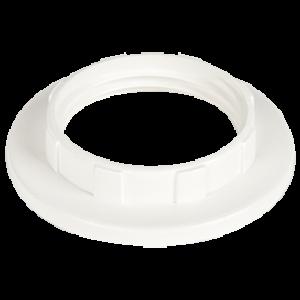 Ecola base Кольцо дополнительное к патрону E14 Белый (1 из уп. по 100)