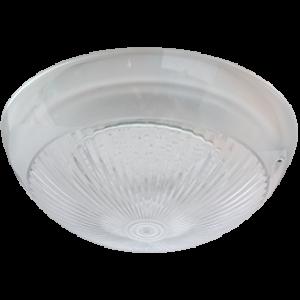 "Ecola Light GX70 LED ДПП 03-60-3 светильник ""Сириус"" Круг накладной IP65 1*GX70 прозрачный белый 220х220х100"