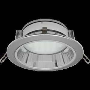 Ecola GX70-H6R светильник хром встр. с рефл.  с лампой GX70 13W Tablet 220V GX70 2700K 65x171